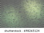 light green vector abstract...   Shutterstock .eps vector #698265124