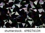 dark silver  gray vector...   Shutterstock .eps vector #698276134