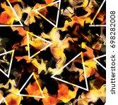 seamless vector abstract...   Shutterstock .eps vector #698282008