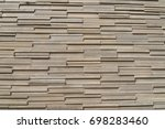 brick wall texture background. | Shutterstock . vector #698283460