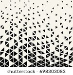 abstract seamless geometric... | Shutterstock .eps vector #698303083