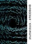 dark green polygonal...   Shutterstock . vector #698308648