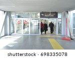 saint petersburg  russia   may... | Shutterstock . vector #698335078