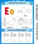 alphabet learning letters  ... | Shutterstock . vector #698354818
