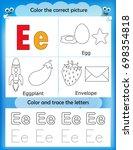 alphabet learning letters  ...   Shutterstock . vector #698354818