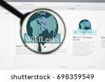 milan  italy   august 10  2017  ...   Shutterstock . vector #698359549