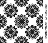 seamless pattern with abstract...   Shutterstock .eps vector #698359600