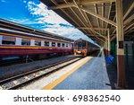 bangkok  thailand   august 9 ...   Shutterstock . vector #698362540