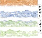 fish  fish float  sea  fishing  ... | Shutterstock .eps vector #698363623