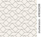 vector seamless pattern. modern ... | Shutterstock .eps vector #698368288