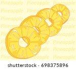 a vector illustration in eps 8... | Shutterstock .eps vector #698375896
