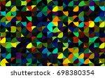 dark multicolor  rainbow vector ...   Shutterstock .eps vector #698380354