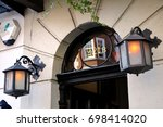 london   october 2  2015  221b... | Shutterstock . vector #698414020