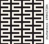 vector seamless pattern. modern ... | Shutterstock .eps vector #698417284