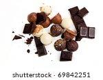 still life  delicious chocolate | Shutterstock . vector #69842251