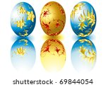easter egg 4 | Shutterstock .eps vector #69844054