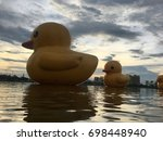 Big Yellow Duck In Udonthani