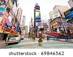 new york city   jan 6  empty... | Shutterstock . vector #69846562