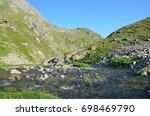 russia  caucasian biosphere... | Shutterstock . vector #698469790