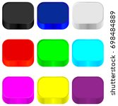 colorful background for icons.   Shutterstock .eps vector #698484889