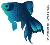 realistic fish   Shutterstock .eps vector #698517688