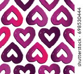vector seamless pattern with... | Shutterstock .eps vector #698530444
