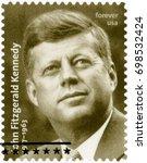 boston  united states of... | Shutterstock . vector #698532424