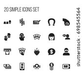 set of 20 editable game icons....
