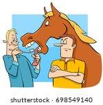 cartoon vector humorous concept