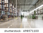 typical storage  warehouse... | Shutterstock . vector #698571103