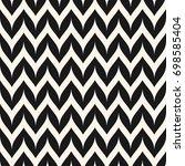 vector zigzag chevron seamless... | Shutterstock .eps vector #698585404