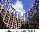 Europe Parlament Building...