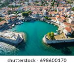 Nafpaktos Lepanto in Greece Aerial Image