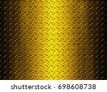 metal plate background   Shutterstock . vector #698608738