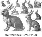 Portrait Of Easter Rabbits