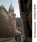 mecca  saudi arabia   15th... | Shutterstock . vector #698657899