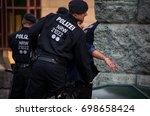 cologne  north rhine westphalia ...   Shutterstock . vector #698658424