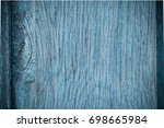old blue wood background   Shutterstock . vector #698665984