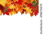 abstract vector illustration... | Shutterstock .eps vector #698670670