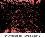 red black white grunge wall... | Shutterstock . vector #698685049