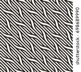 vector seamless pattern. modern ... | Shutterstock .eps vector #698689990