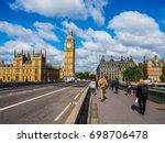 london  uk   circa june 2017 ... | Shutterstock . vector #698706478