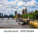 london  uk   circa june 2017 ... | Shutterstock . vector #698706484