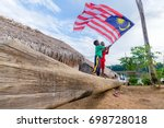 perak   malaysia   18 august...   Shutterstock . vector #698728018