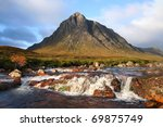 Buachaille Etive Mor Mountain...