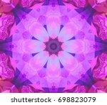 beautiful dark unique... | Shutterstock . vector #698823079