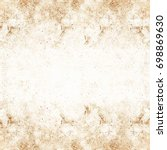 perfect brown background | Shutterstock . vector #698869630