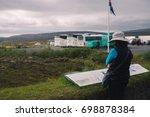 thingvellir  iceland   august...   Shutterstock . vector #698878384