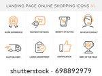 flat line design concept icons...   Shutterstock .eps vector #698892979