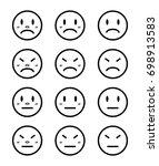 face | Shutterstock .eps vector #698913583